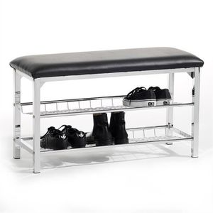 MEUBLE À CHAUSSURES Meuble à chaussures INA banc avec assise et 2 étag