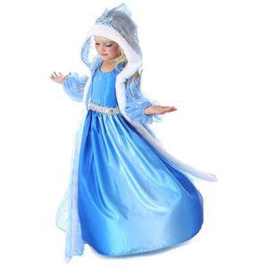 DÉGUISEMENT - PANOPLIE WAIWAIZUI Robe Princesse Reine des Neiges Frozen -
