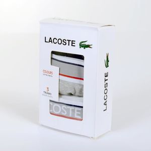 BOXER - SHORTY Boxer Lacoste 3er Pack Homme