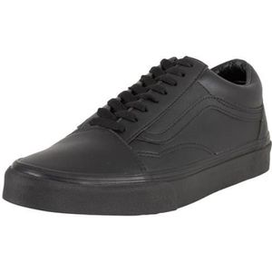 vans old skool cuir noir