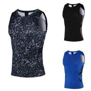CHEMISIER - BLOUSE New Sports d'été Fitness Sport Respirant Veste à s