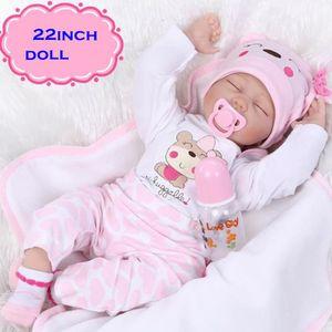 POUPÉE Bébé Reborn fille - 55 cm