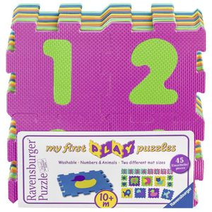 PUZZLE RAVENSBURGER My first play puzzles - Chiffres et a