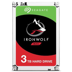 DISQUE DUR INTERNE Seagate IronWolf ST3000VN007, 3.5