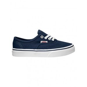 Chaussures Vans K Authentic - Twill GunGham / Dress Blue ISqVh