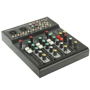 TABLE DE MIXAGE Table de mixage 4 canaux console professionnelle e