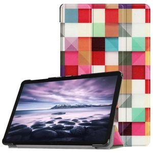 HOUSSE TABLETTE TACTILE Housse tablette en cuir coloré de modèle magique d