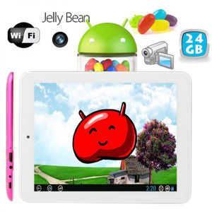 TABLETTE TACTILE Tablette tactile Android Jelly Bean 4.2 8 pouces H