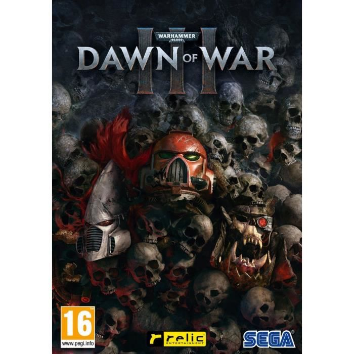 Warhammer 40,000 : Dawn Of War III Jeu PC