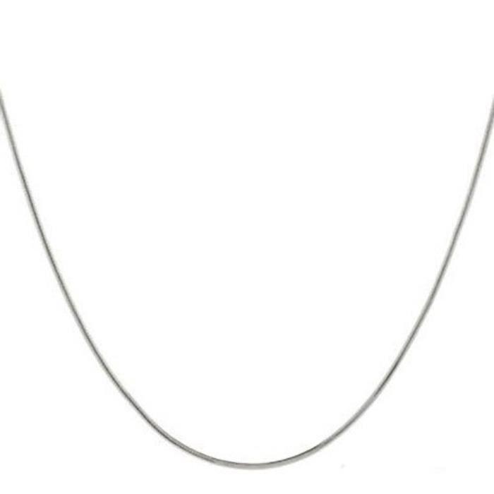 Chaine De Cou Vendue Seule XJFKB Chaîne en argent sterling Serpent de femmes - de haute qualité solide chaîne Idéal pour s Pendentif