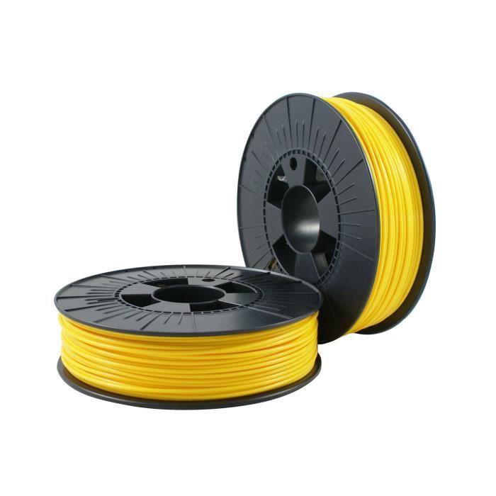 PLA 2,85mm yellow ca. RAL 1023 0,75kg - 3D Filament Supplies