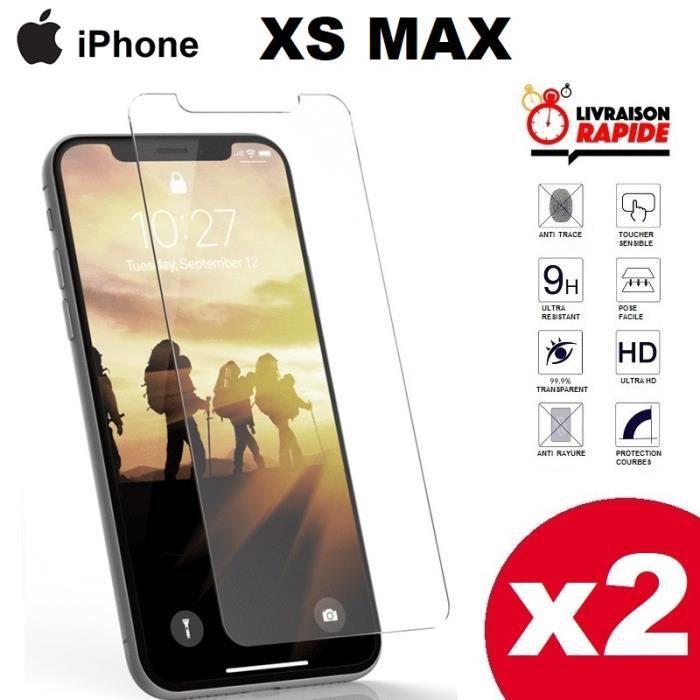 vitre protege ecran iphone XS MAX