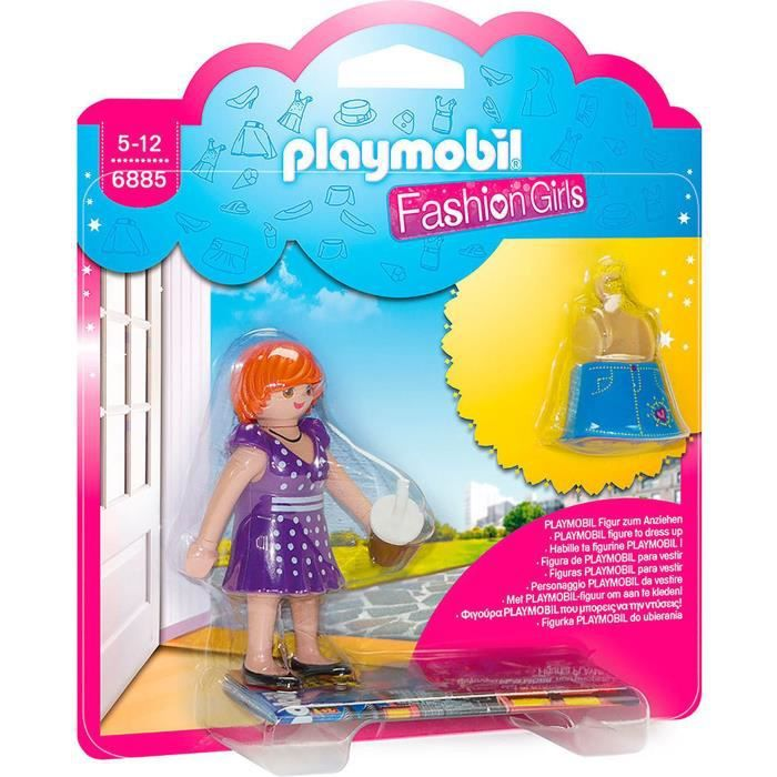 PLAYMOBIL 6885 Fashion Girl Tenue de Ville