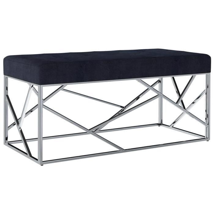 ��5222 Luxueuse Magnifique-Banc Banquette d'Entrée Style Contemporain scandinave -Pouf de Rangement grand confort -Meuble Bas Banc d