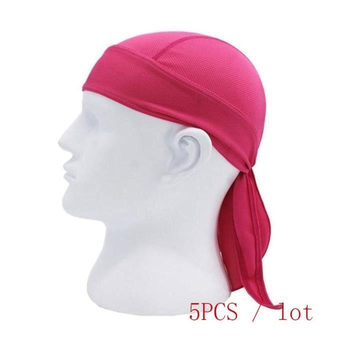 chapeau,5 unités hommes femmes casquette de cyclisme respirant Multi fonction hommes vélo bandeau cyclisme Bandana Pirate - Type 13