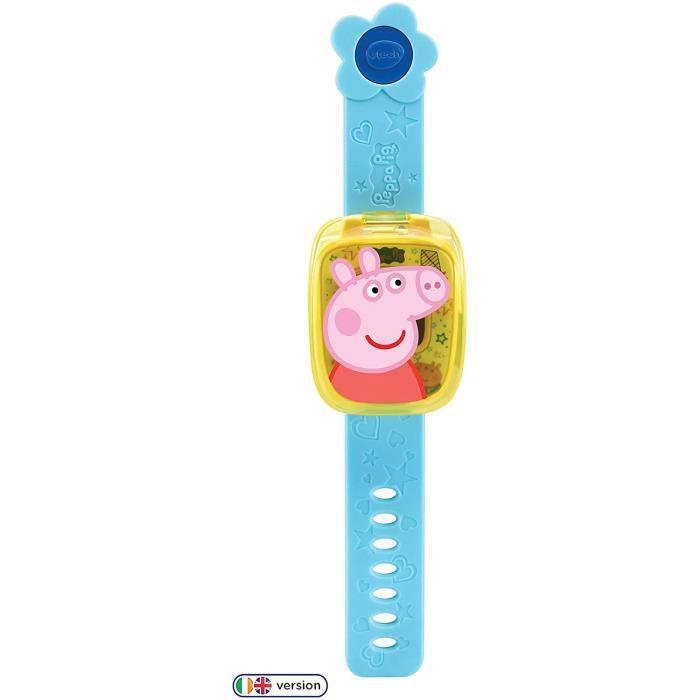 Jouets d'activité et de développement VTech 526003 Peppa Pig Montre d'apprentissage Multicolore 143633