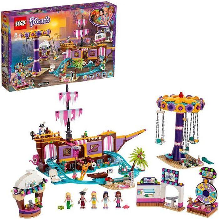 LEGO Friends - Le quai de Heartlake City, Jouet pour Fille et Garçon à Partir de 8 Ans et Plus, 1251 Pièces - 41375
