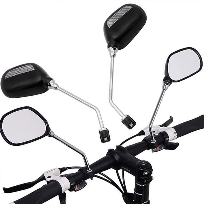 Lot de 2 supports universels pour guidon de moto ou VTT 10 mm x 22 mm