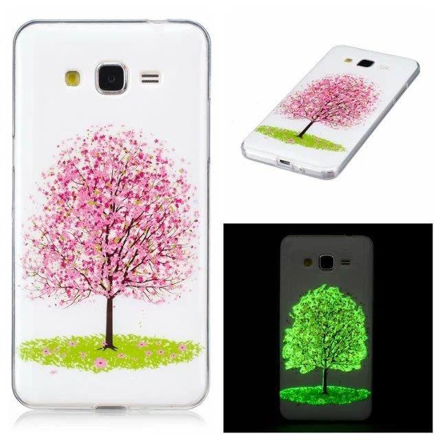 Coque Samsung Galaxy A5 (2017 Version). Printemps arbre rose pêche ...