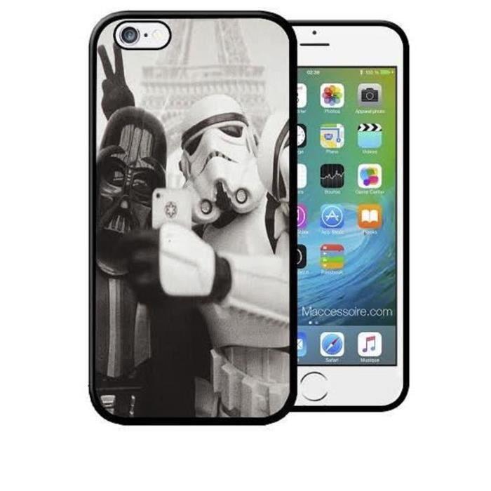 coque iphone 5 5s star wars dark vador selfie a pa