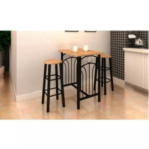 Table Haute De Bar Et 2 Tabourets Phoenix Achat Vente Table