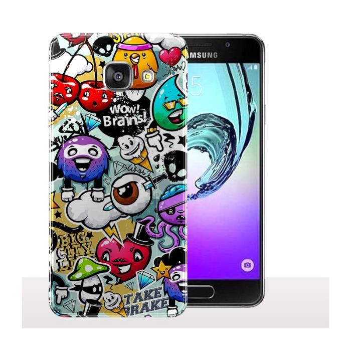 Coque Samsung A5 2017 Funny Tags - Protection smar