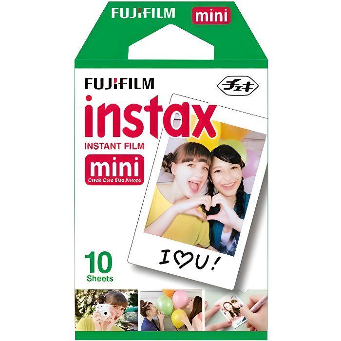 PELLICULE PHOTO Fujifilm Instax Mini Pellicule couleur à développe
