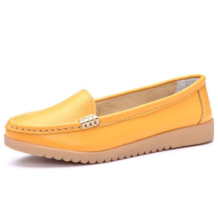 Femme casual chaussures plates Mocassins n8fAEdKf