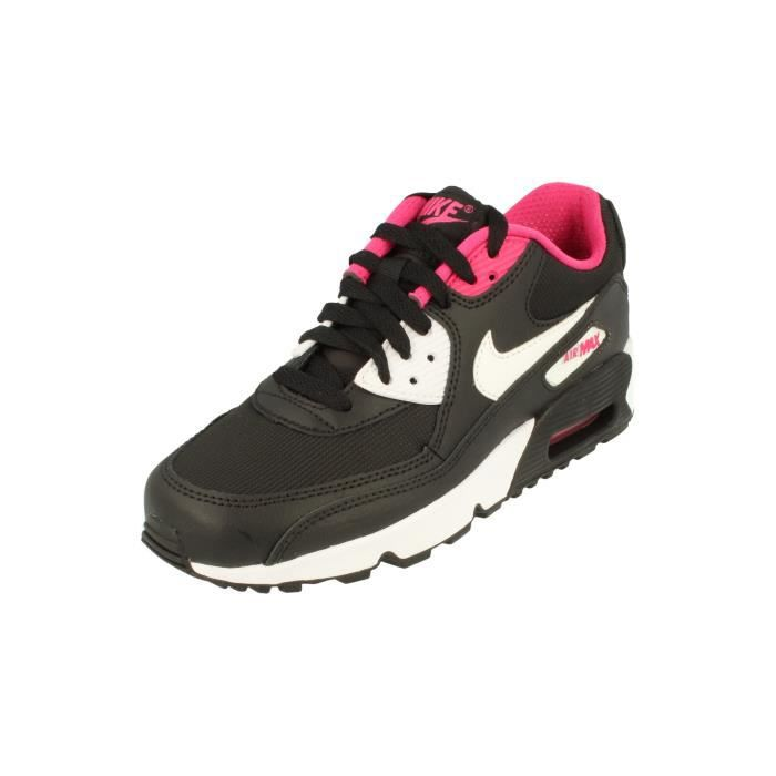 online store 7feae d56dc BASKET Nike Air Max 90 Mesh GS Running Trainers 833340 Sn