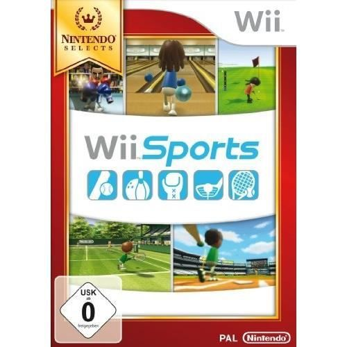 JEU WII WII SPORTS - NINTENDO SELECTS [IMPORT ALLEMAND]…