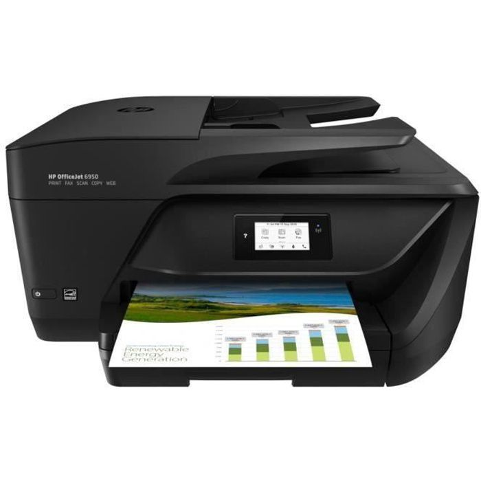 Imprimante HP OfficeJet 6950 - 4 en 1 - jet d encre - couleur ... cbab129ba028