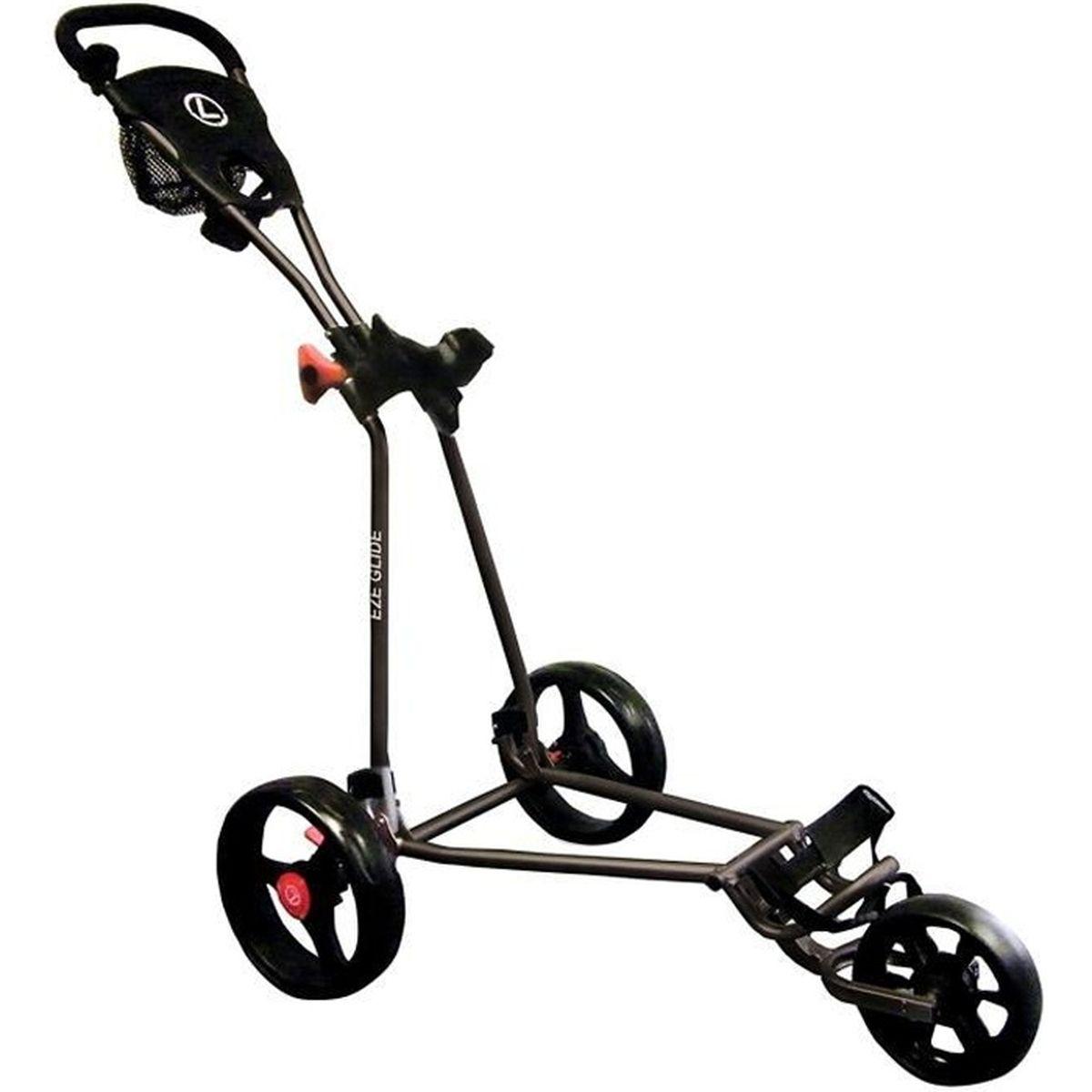 Chariot De Golf Eze Glide 3 Roues Noir Prix Pas Cher Cdiscount