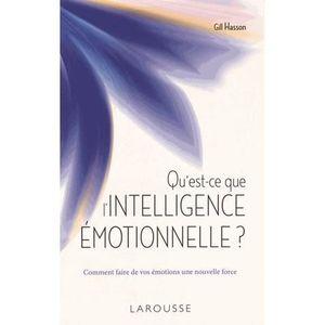 LIVRE DÉVELOPPEMENT Qu'est-ce que l'intelligence émotionnelle ?