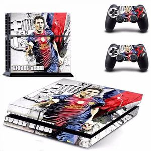 STICKER - SKIN CONSOLE Lionel Messi Ps4 Sticker Peau Pour Sony Playstaion