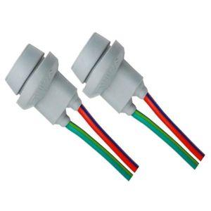lot de 2 Douille connecteur adapter plug culot Prise T10 W5W caoutchouc dur