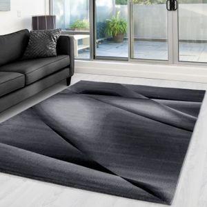 TAPIS MIAMI Tapis moderne 6590 - Noir - 160 x 230 cm