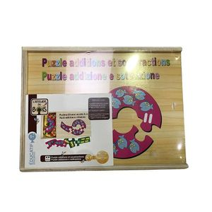 PUZZLE Puzzle additions - enfant à partir de 5 ans