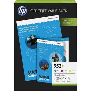 CARTOUCHE IMPRIMANTE Pack économique HP 953XL Office - 75 feuilles/A4/2