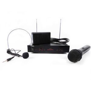 MICROPHONE - ACCESSOIRE Système microphone sans fil 2 canaux IBIZA VHF2H
