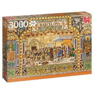 PUZZLE Jumbo - 618590 - Puzzle - carreaux de Barcelone -
