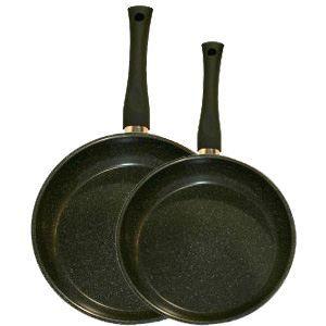 Poêle Quartz 24 cm Elo Premium casseroles Black Pearl 4 Pcs