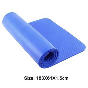 TAPIS DE SOL FITNESS Tapis Yoga Antiderapant Epais - Tapis de Gymnastiq