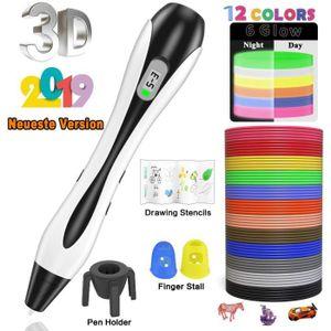 FIL POUR IMPRIMANTE 3D Stylo 3D Lovebay 3D Professionnel Pen Set Stylo d'