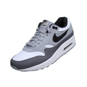 BASKET Basket Nike Air Max 1 Ah8145 - 101 White / Grey