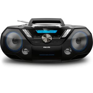 RADIO CD CASSETTE Philips AZB 798 T Radio-Radio-réveil Lecteur CD MP