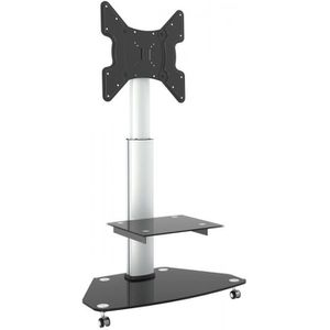 FIXATION - SUPPORT TV RICOO Meuble sur Pied TV roulettes Design FS0200 S