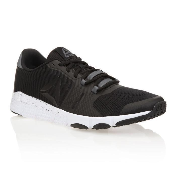 REEBOK Baskets Trainflex 2 - Homme - Noir et blanc
