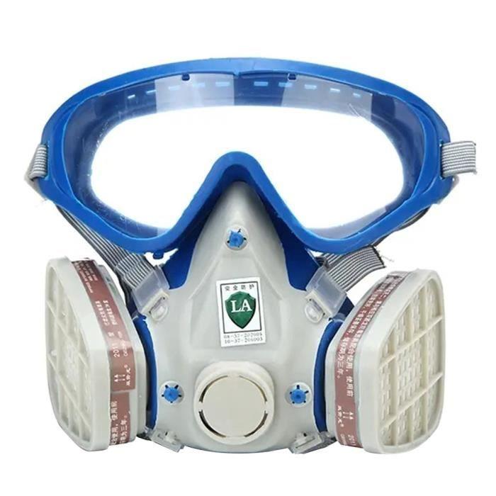 Protection sportive Masque silicone facial complet peinture masque chimique anti-poussière anti-feu ZBB200331004_365