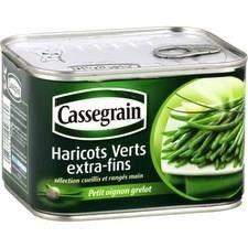 BONDUELLE EUROPE LONG LIFE Haricots verts extra-fins Cassegrain - 706 g