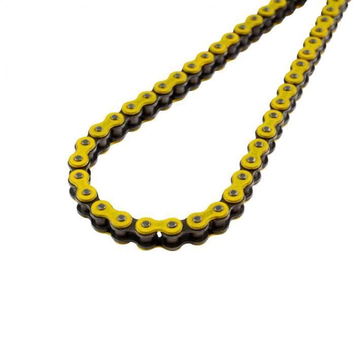 Chaine cyclo 415 kmc 120m renforcee jaune